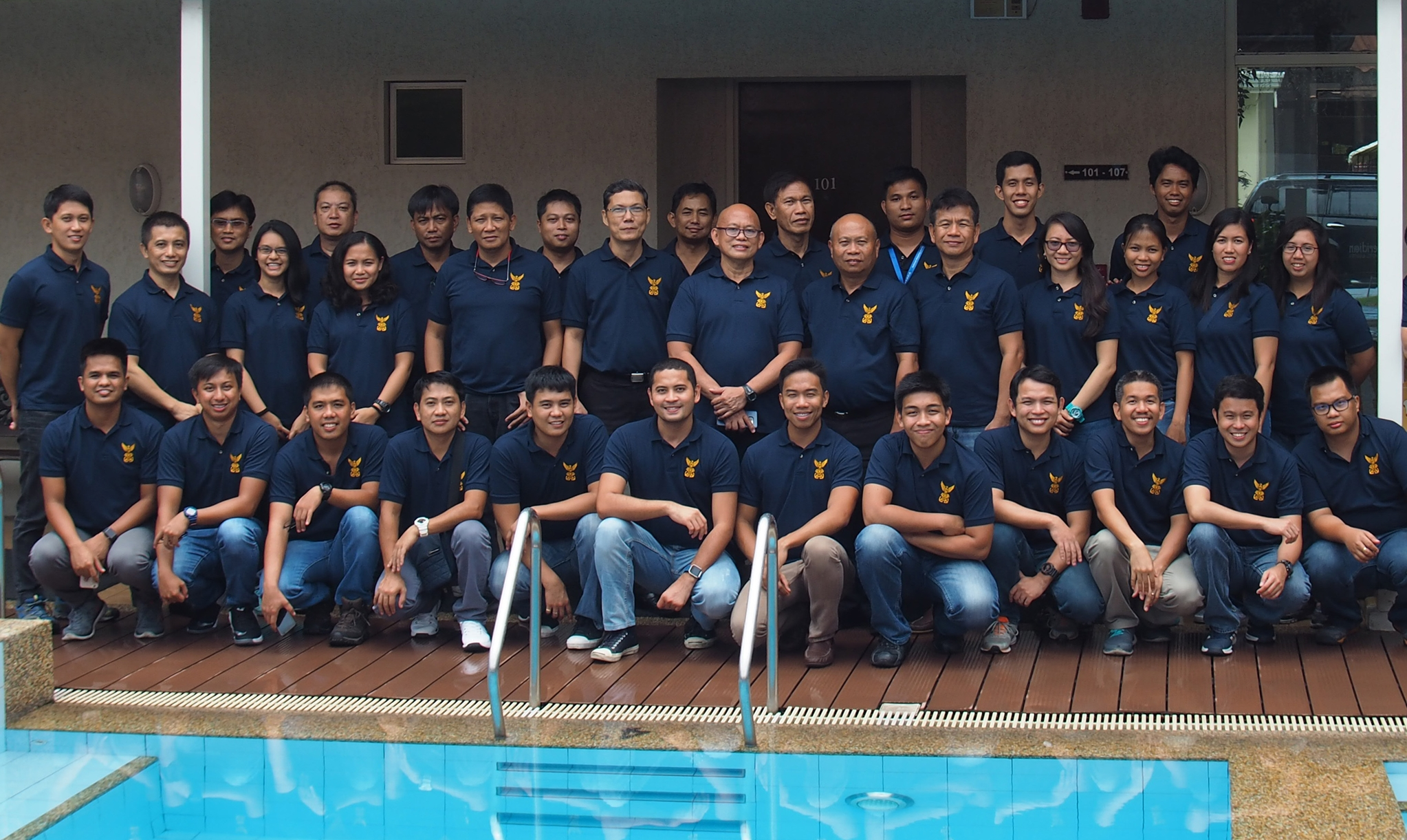 Participants to the seminar-workshop for NAMRIA hydrographic survey officers